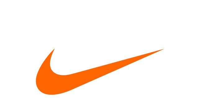Image Gallery orange nike logo